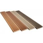 Silvadec Silva board 138x23x4000 mm. vékony bordázott TEAK