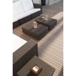 Silvadec Silva board 138x23x4000 mm. vékony bordázott PALISANDER